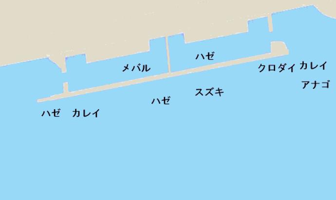 行徳港ポイント図