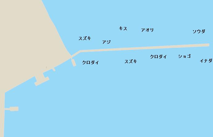 自衛隊堤防ポイント図
