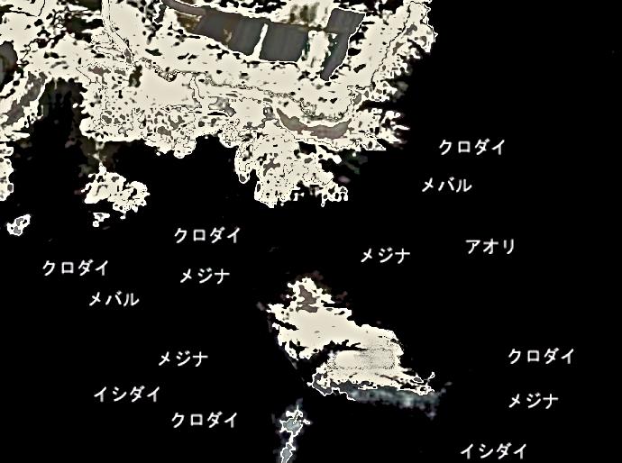 大畑崎ポイント図