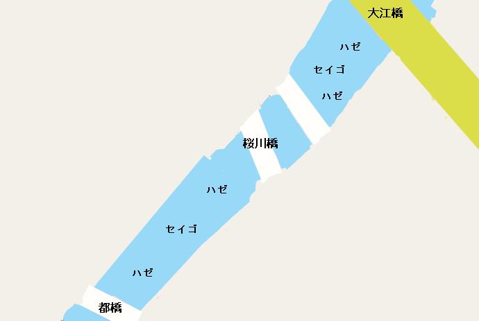 大岡川ポイント図