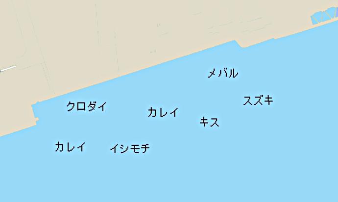 千鳥公園ポイント図