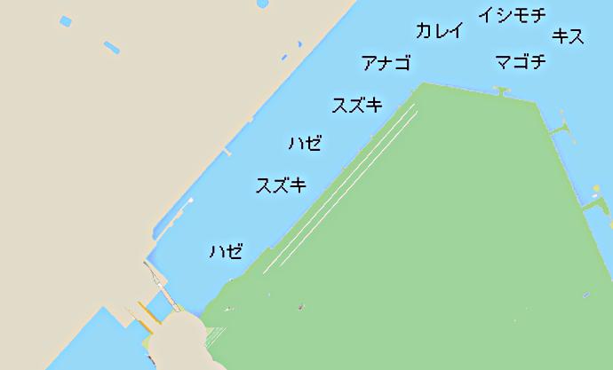 千鳥運河のポイント