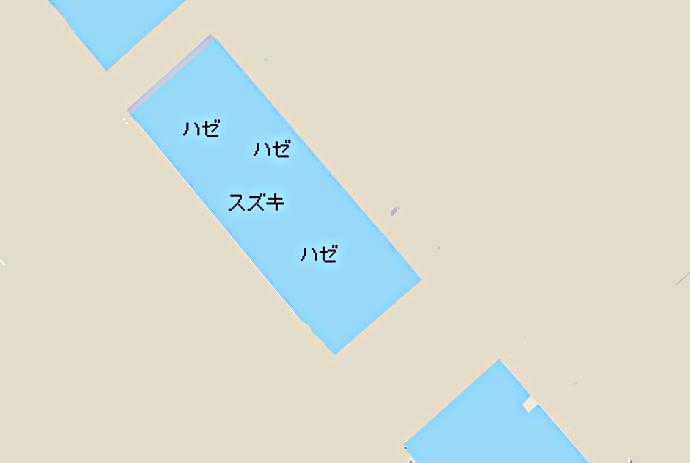 月島運河ポイント図