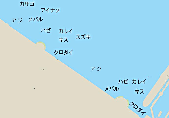 山下公園ポイント図