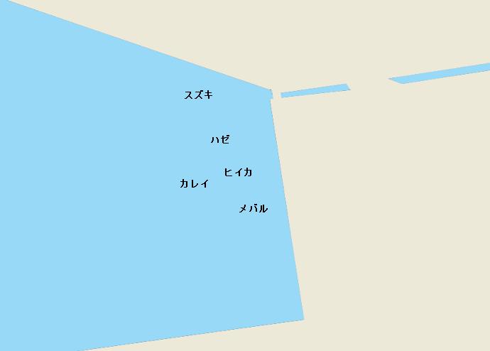 船橋港のポイント