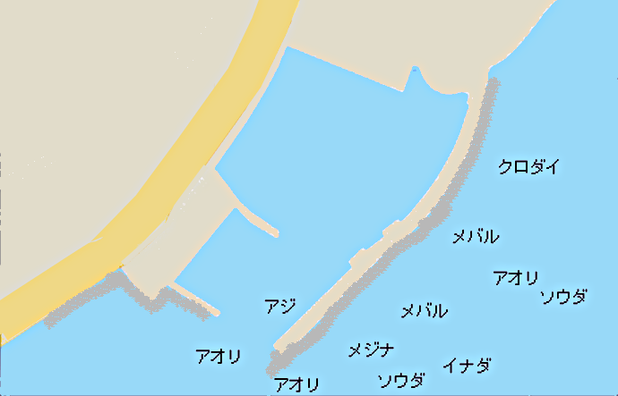 伊豆多賀港のポイント