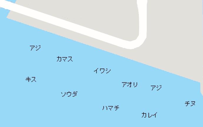 和歌山マリーナシティポイント図