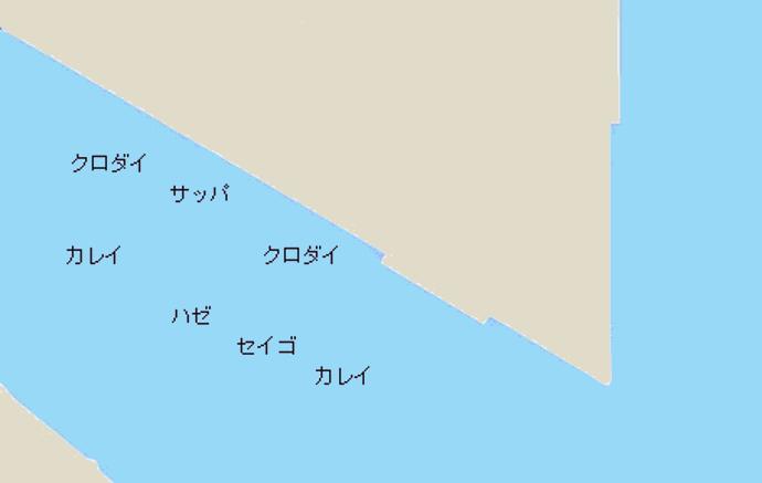 名港西3区ポイント図