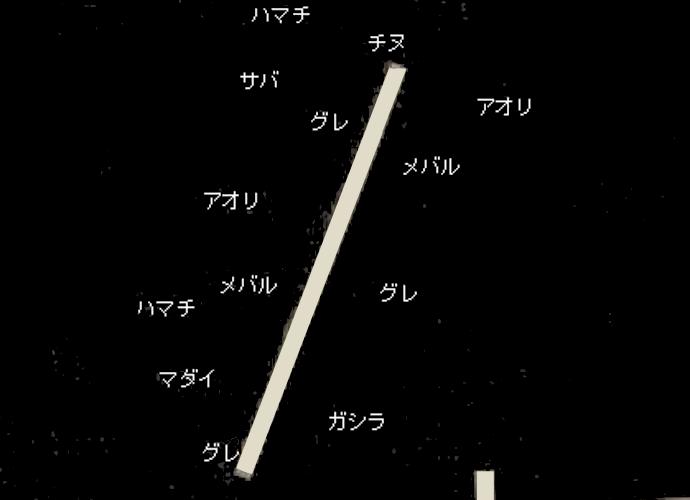 沼島一文字ポイント図