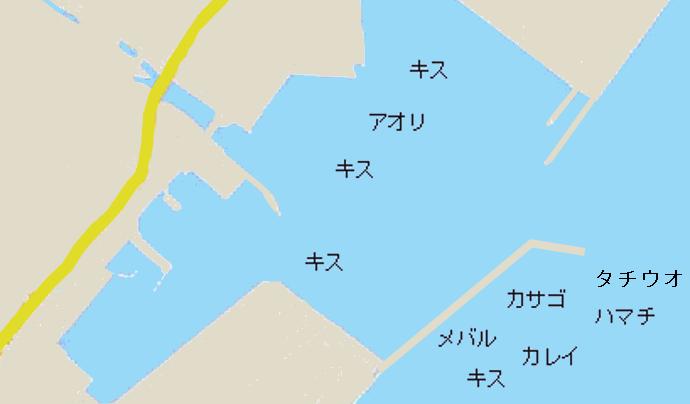 津名港ポイント図