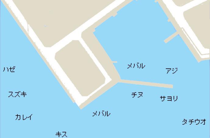 井口港ポイント図