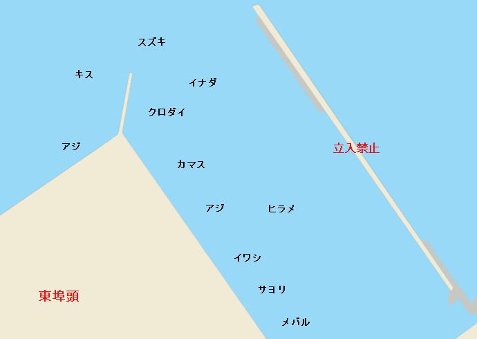 直江津港ポイント図