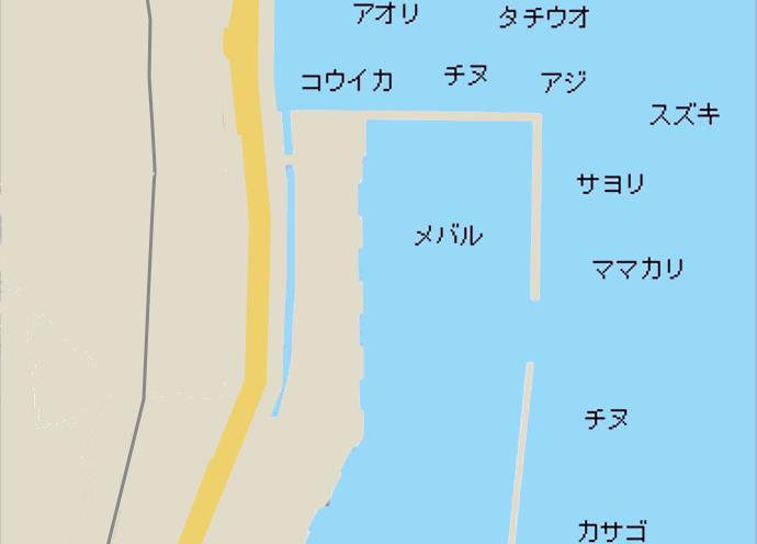 須波港ポイント図