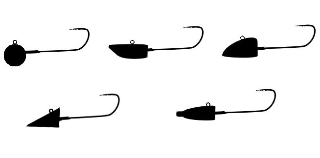 アジング用・メバリング用ジグヘッドの種類