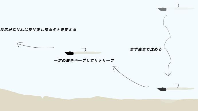 アジング 基本的な釣り方