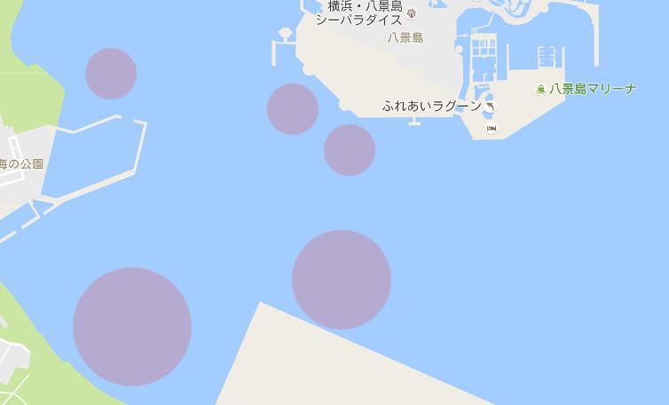 八景島のボート釣りポイント