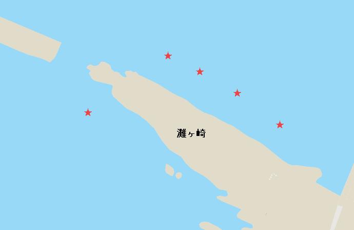 城ヶ島灘ヶ崎アオリイカポイント