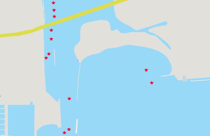 相模川河口シーバスポイント