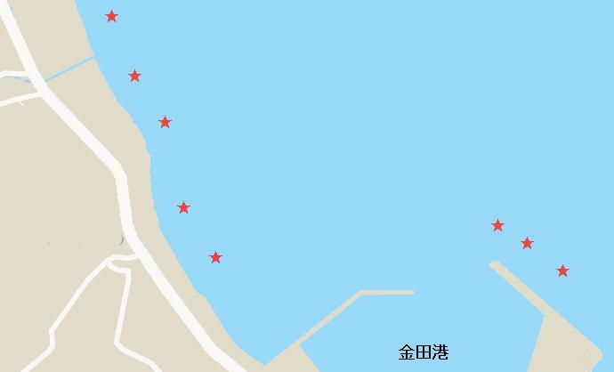 金田海岸キスポイント