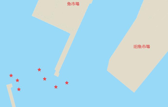 三崎港マダイポイント