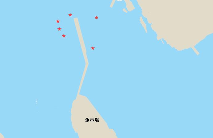 長井港タコポイント