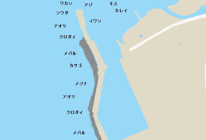 秋谷漁港のポイント