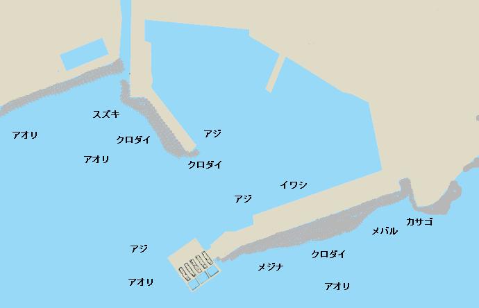 福浦港のポイント