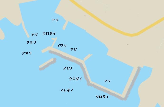 浜萩港ポイント図