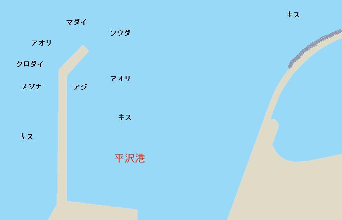 平沢港のポイント