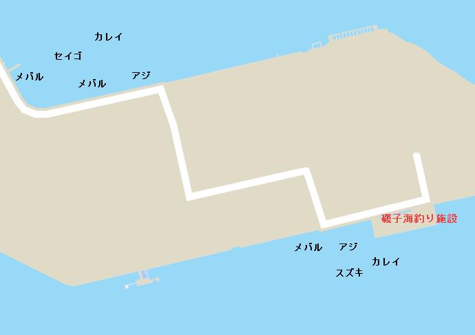 磯子港のポイント
