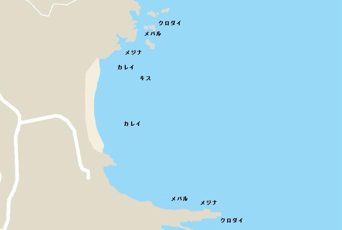 大浦ポイント図