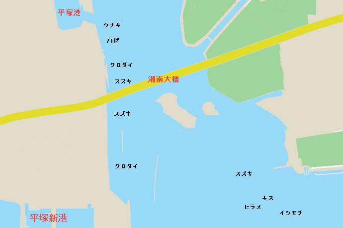 相模川河口のポイント