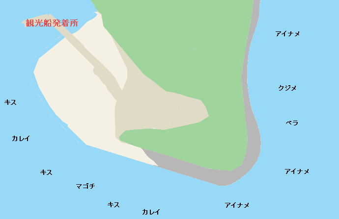 猿島のポイント