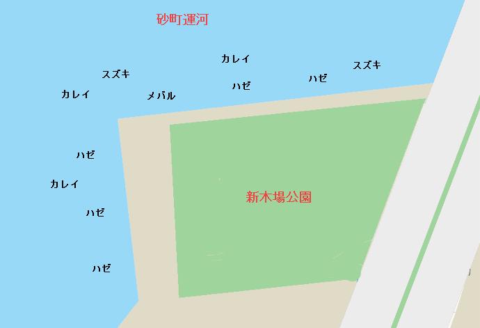 新木場公園ポイント図