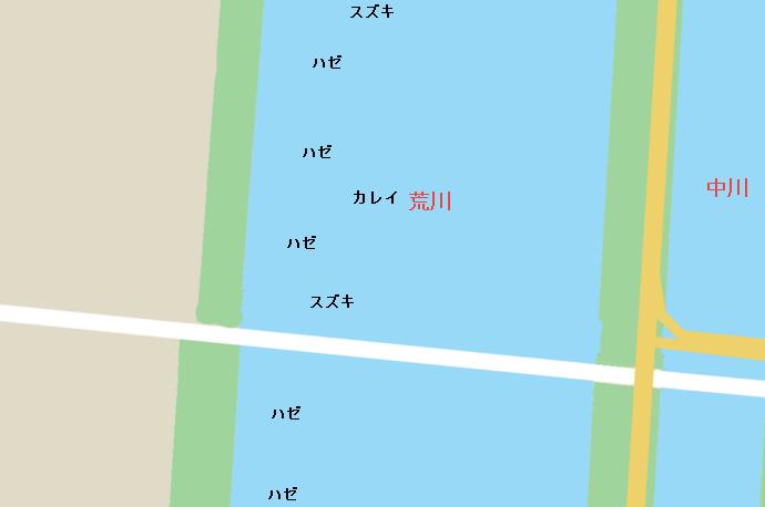 砂町水辺公園ポイント図