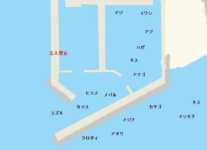 平塚新港のポイント
