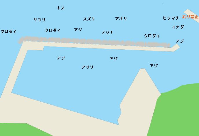 松部港のポイント