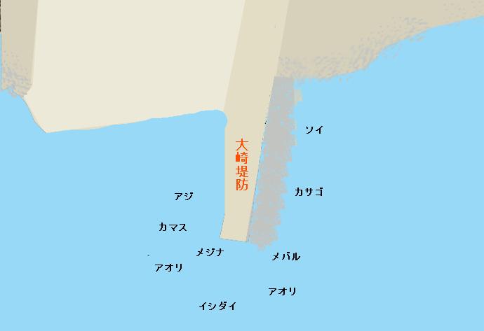 大崎堤防ポイント図