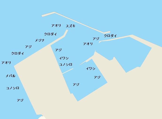 地頭方港のポイント