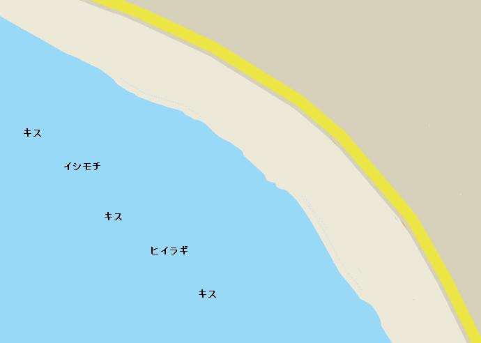 逗子海岸のポイント