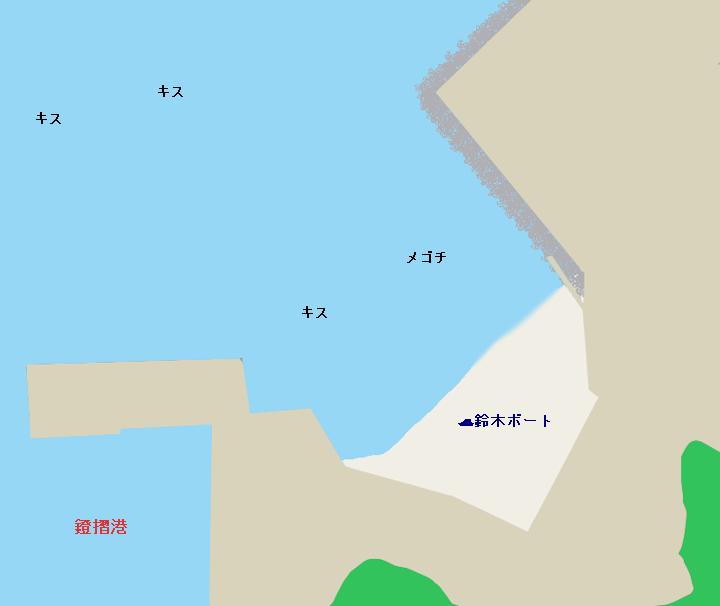 小浜海岸ポイント図
