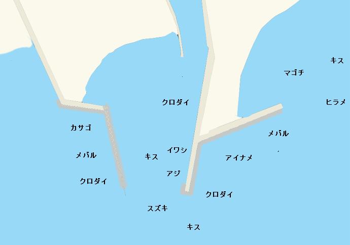 赤羽根港のポイント