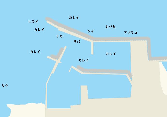 厚田漁港のポイント