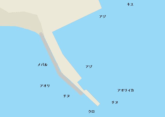 福の浦港のポイント