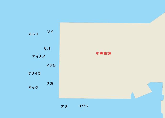 函館港中央埠頭のポイント