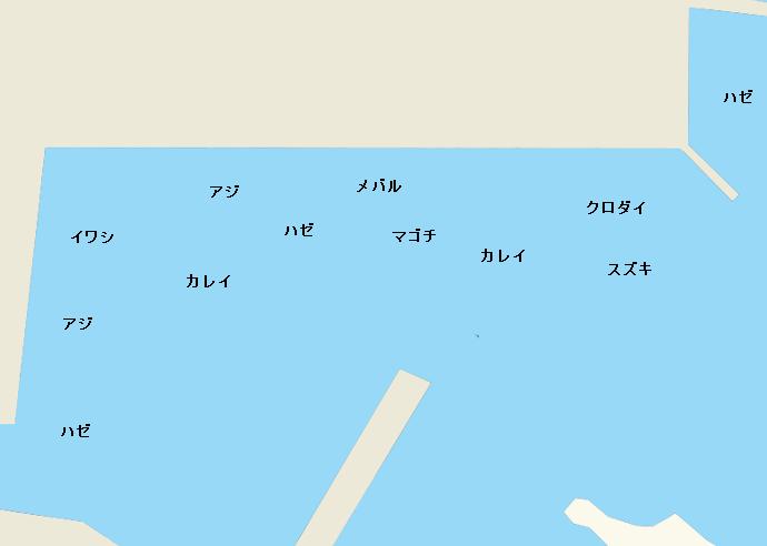 浜名湖浜名港のポイント