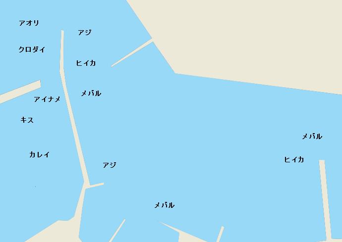 姫島漁港のポイント