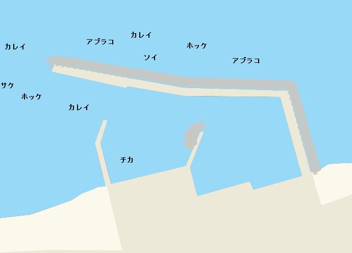 幌漁港のポイント
