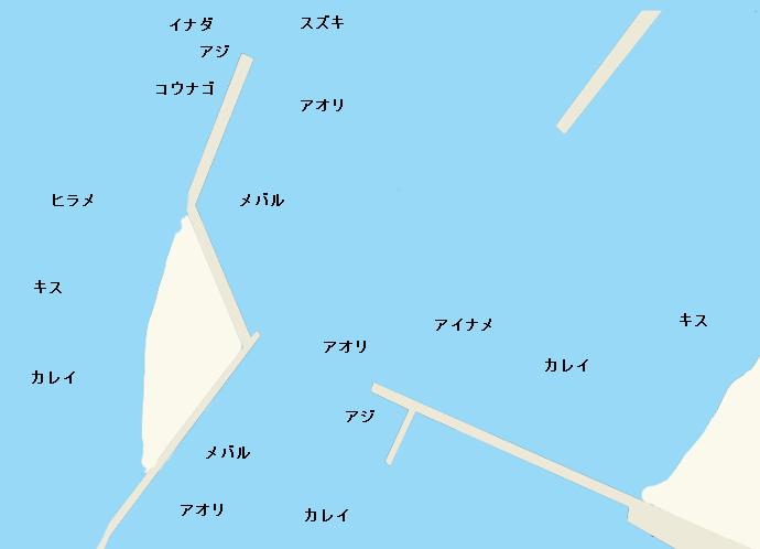 伊良湖港のポイント