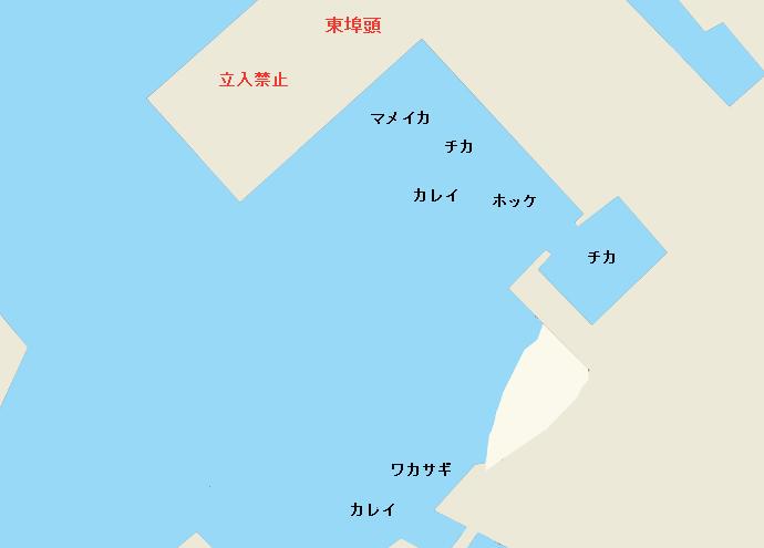 石狩湾新港東埠頭